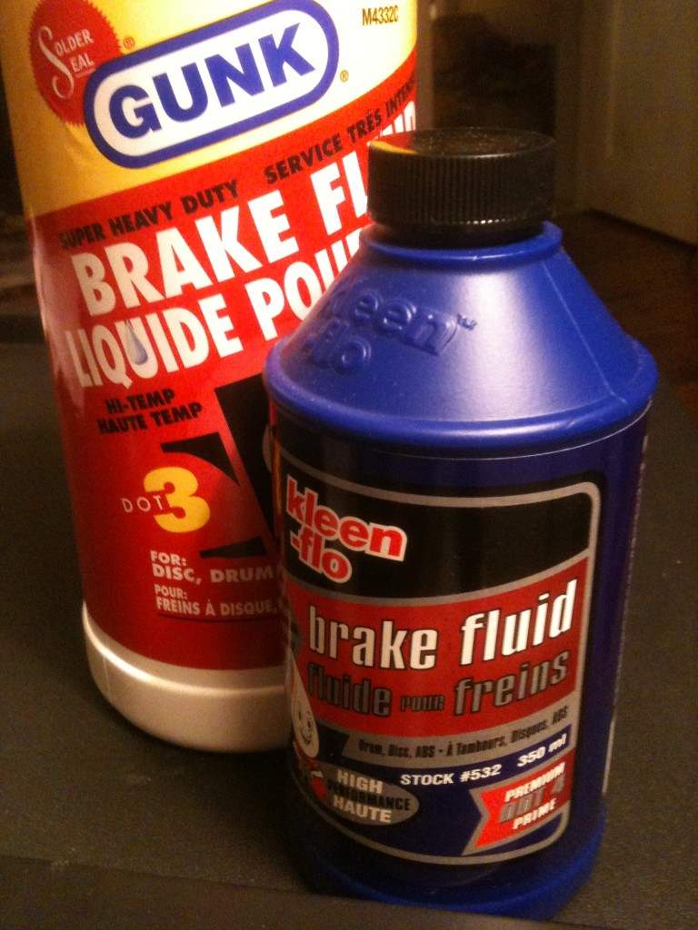 Dot 3 and Dot 4 brake fluid that is compatible with some GM Brakes